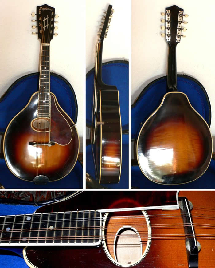 radiotone mandoline double top 1930. Black Bedroom Furniture Sets. Home Design Ideas