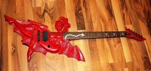 ESP Devil Girl Guitar