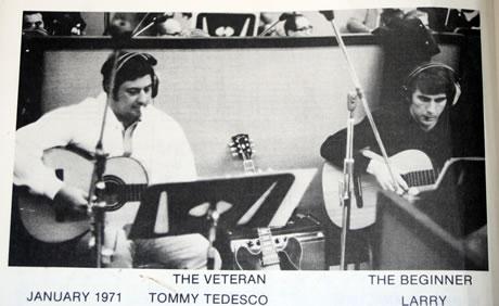 Tommy Tedesco Larry Carlton 1971